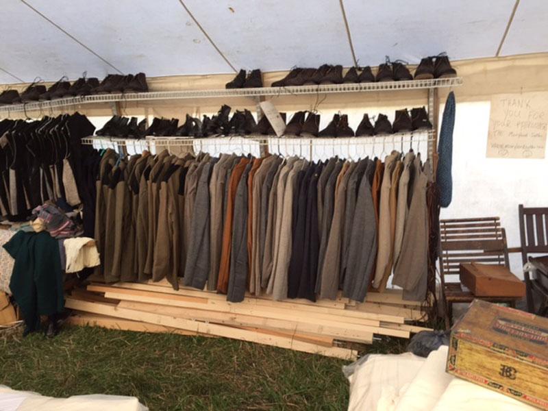 The Maryland Sutler Gettysburg reenactment tent